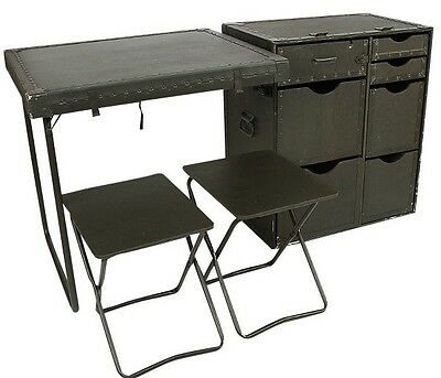 Army Field Desk Military Surplus Scout Camping RV(NEW) original packaging!