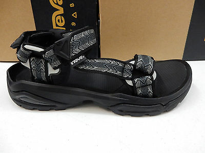 ac496cacafe8d1 TEVA MENS SANDALS Terra Fi 4 Cross Terra Black Size 8 -  100.00 ...