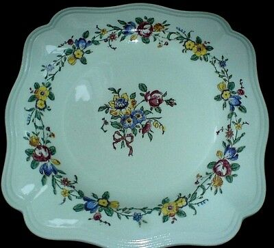 ROYAL DOULTON LEIGHTON D 6164 Square 8 inch Plate c1940-59
