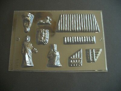 9 On 1 Nativity Scene Chocolate Mould/moulds/christmas/mary/joseph/stable/jesus