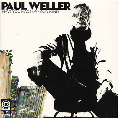 "PAUL WELLER Have you made up your mind | 7"" Vinyl Single Neuware Picture sleeve"