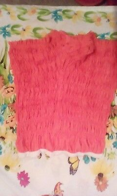 Square dance ruffled pettipants, gently used, orange