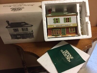 The Heritage Village Collection Christmas Dept. 56 Dickens Village ScroogeIn Box