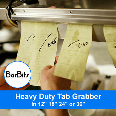 BarBits Heavy Duty Aluminium Tab Order Grabber - Bill Tickets Waiter Food Check