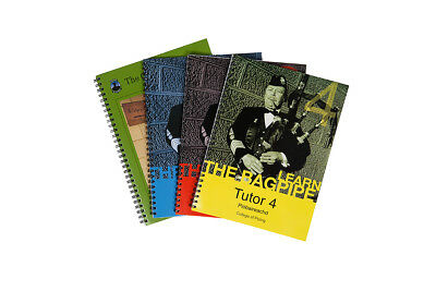 College of Piping Tutor Book Bundle of all 4 books, Latest Edition Bagpipes