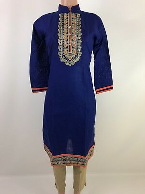 IBC $15.99 Designer Neck work  Indian Kurtis women kurta  kurti Size 42