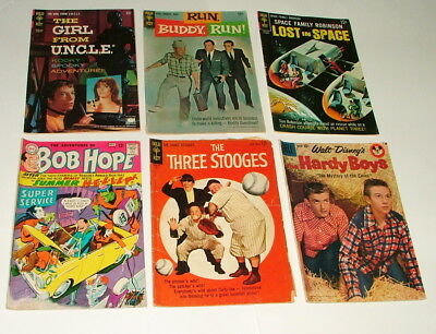 %  1960's Tv Show Movie   Comic Book Collection Lot Y-48