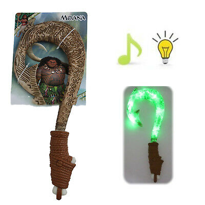 Maui Light-Up Sound Fish Hook Moana Exquisite Toys For Kids Birthday Gifts Xmas