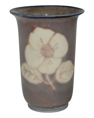 Rookwood Pottery 1943 Designed Crystal Floral Vase 6306 (Barrett)