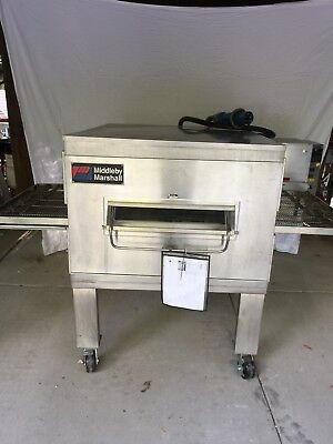 """USED Pizza Oven Middleby Marshall PS200 Electric Conveyor 3 Phase 32"""" Belt"""