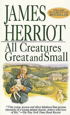All Creatures Great and Small  (ExLib) by Herriot, James