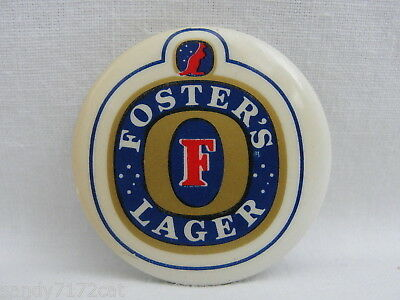 Pinback Button Fosters Lager Beer F Kangaroo 80s Vintage Pin Biere One Badge