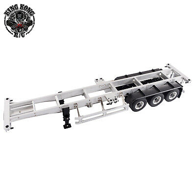 Fully Metal 40-Foot Container Semi-Trailer for Tamiya 1/14 R/C Tractor Truck