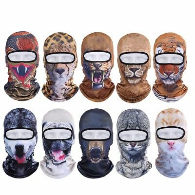 3D Animal Outdoor Bicycle Cycling Ski Hat Motorcycle Balaclava Full Face Mask