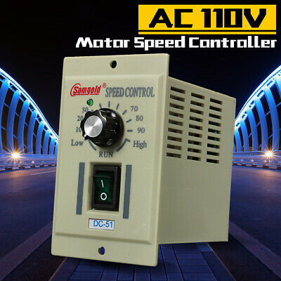 AC 110V DC-51 1/3 phase Motor Speed Control Controller Variable For DC 90V 400W