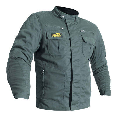 RST Classic TT Wax Short ll Olive Motorcycle Waxed Cotton Jacket | All Sizes