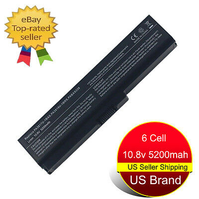6 Cell Laptop Battery For Toshiba Satellite L655 L655D PA3817U-1BRS C655