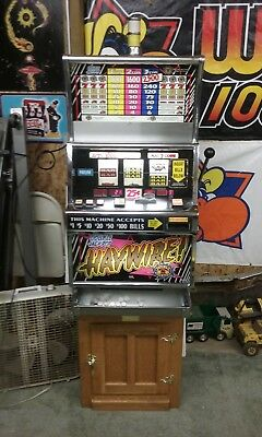 IGT SLOT MACHINE DOUBLE jackpot HAYWIRE WITH A STAND