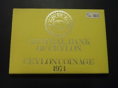 Ceylon ( Sri Lanka ) - KMS - 1971 - PP - Central Bank of Ceylon