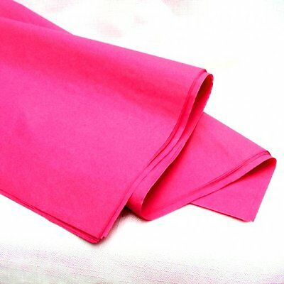 """50 100 ream OF PINK ACID FREE TISSUE WRAPPING PAPER SIZE 450 X 700MM 18 X 28"""""""