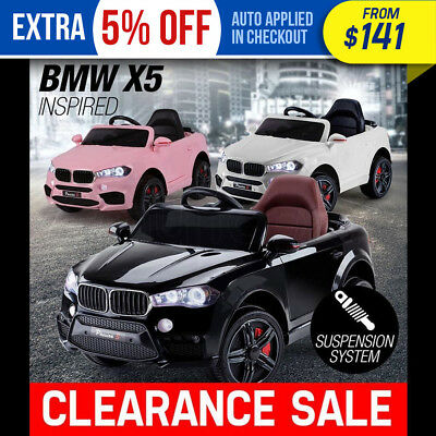 NEW ROVO KIDS Ride-On Car BMW X5 Inspired Electric Toy Battery Remote 12V