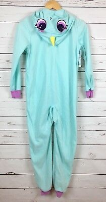 Cat & Jack Pastel Turquoise Unicorn One Piece Pajama NWT Girl's Size Medium 7/8