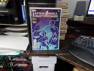 Captain America & The Mighty Avengers #4 NM First Print (2015)