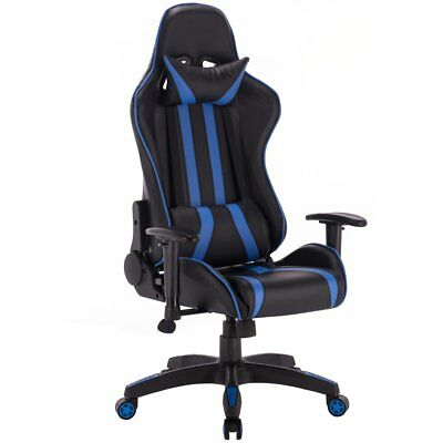 Giantex Gaming Chair Racing High Back Reclining Chair Office Desk Task Computer