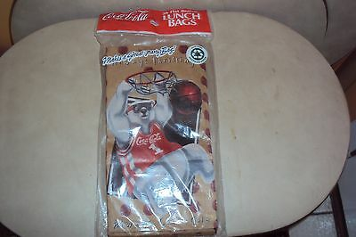 20 Coca Cola Paper Lunch Bags New Original Packaging 1997