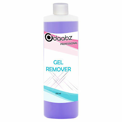 Daabz Gel Polish Remover UV LED Nail Polish Cleaner Acetone Manicure 250ml