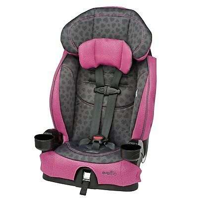 Kids Car Seat Infant Baby Toddler Child Convertible For Girl Drink Cup Holders