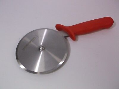 Dexter Russell 5in Pizza Wheel Cutter #P177A-5 Red Handle Heavy Duty Wheel Knife