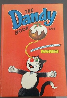 The Dandy Book Annual 1973 Vgc Unclipped Korky, Desperate Dan, Dirty Dick!
