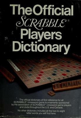 The Official Scrabble Players Dictionary  (NoDust)