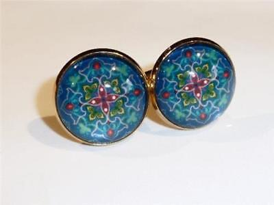 Gold Plated Cufflinks - Classical Design - Gift Bag - Free Uk P&p.........w1300