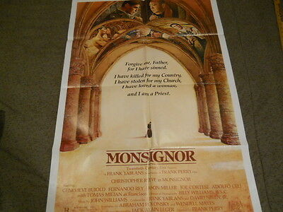 Christopher Reeve - Monsignor Poster 1982