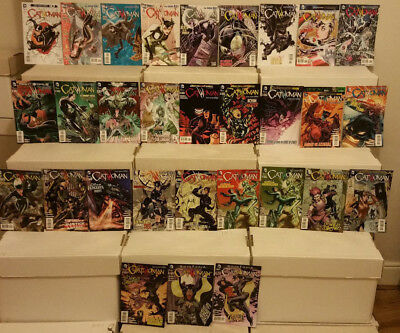 Catwoman #0 to 45 New 52 DC Comics Lot NM-