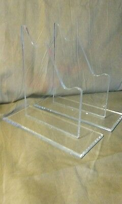 THREE SETS OF Acrylic Antique Sword & Knife Display Stand for WW1 & WW2 Blades