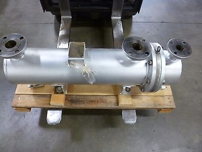 """Lube Oil Heater/lube Oil Purifier Steam Heat Exchanger Shell & Tube 8"""" Usa Made"""