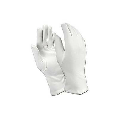 Adults White Gloves Father Christmas Mime Scream Magician Fancy Dress Accessory
