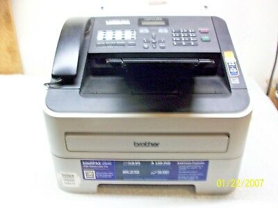 Genuine Brother FAX 2840 IntelliFax-2840 High-Speed Laser FAX Machine #284229