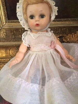 Vintage Madame Alexander Little Genius  Doll, 1950's All Original Tagged, 7 1/2""