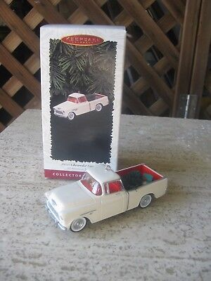 Hallmark Christmas Ornament  Chevy 1955 Truck American Collector NIB