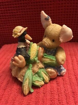 """1994 ENESCO TLP  """"Nothing Corny Bout You And Me""""  THIS LITTLE PIGGY"""