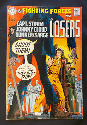 Our Fighting Forces #126 ! DC 1970 ! NICE COPY ! THE LOSERS ! hayfamzone