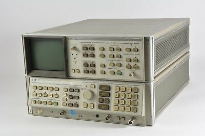 HP Agilent 8568B Spectrum Analyzer and 85662A Display, 100 Hz - 1500 MHz (AS-IS)