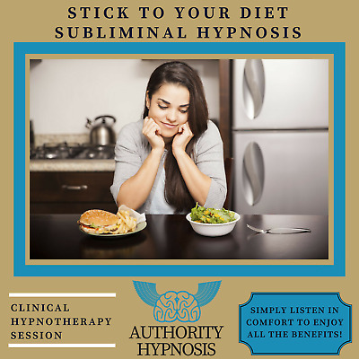 Stick to Your Diet – Subliminal Hypnosis Collection - Easily Achieve Diet Goals!
