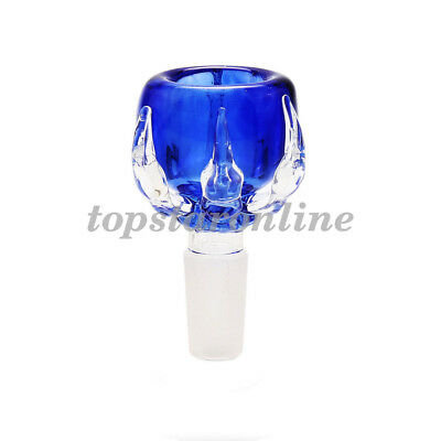 14mm Blue Dragon Claw Glass Bowl With Free Screens USA Fast Free Shipping