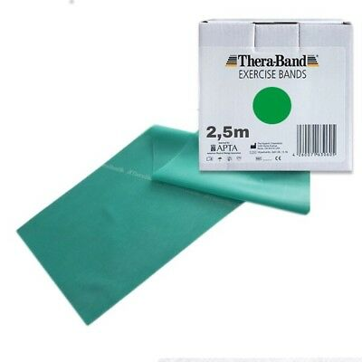 ORIGINAL Thera-Band ® Übungsband stark grün 2,5 m Theraband Thera-Band 2,5m