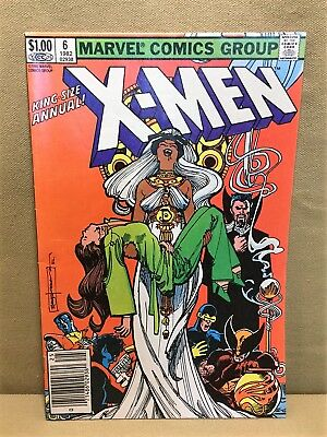 X-Men King Size Annual 6 (Marvel 1982) VF/VF+ Condition.